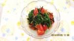 副菜:おかひじきとトマト のサラダ