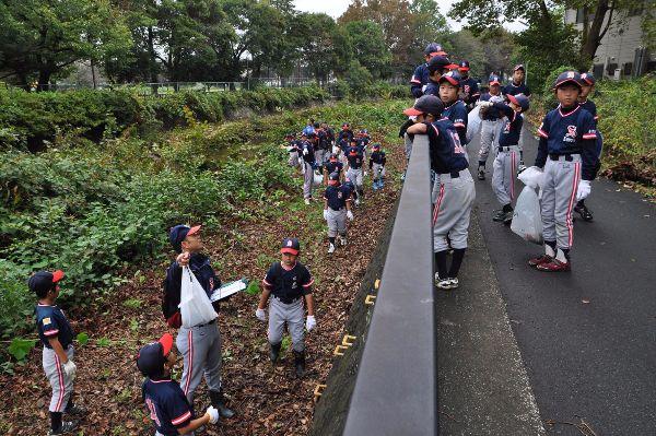 少年野球チームの活動