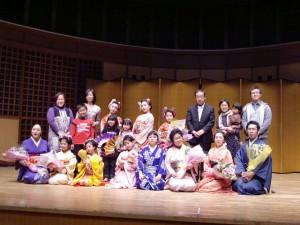 日本舞踊教室記念撮影(H24、西東京)