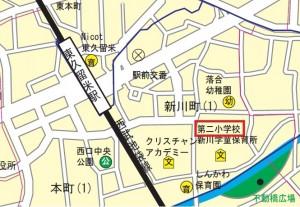 第2小学校地図
