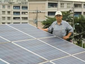 会員増強(ソーラー発電)