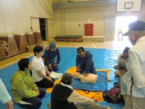 H26年度二小地区防災訓練 (3)