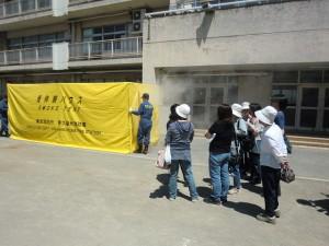 H26年度二小地区防災訓練 (2)