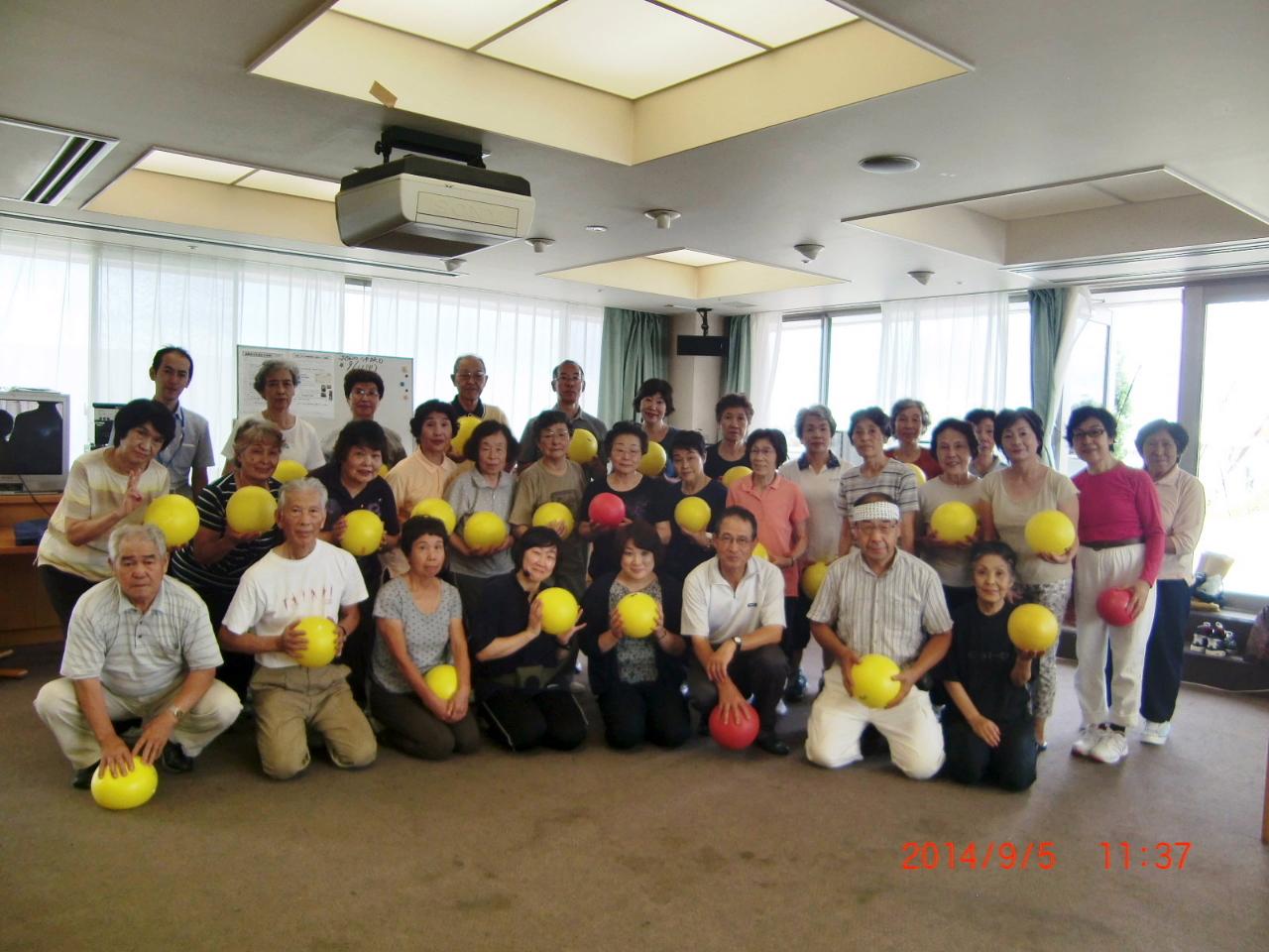 H27高齢者元気長生き体操4月度募集 (1)