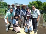 H270521いやし収穫体験・台湾公立TV取材 (14)