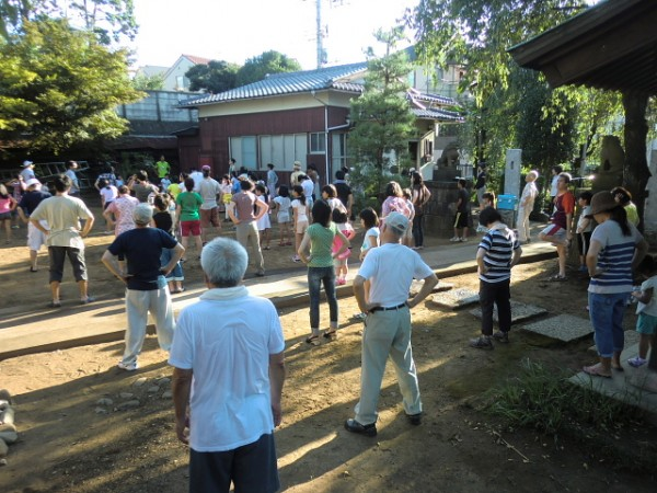 H26夏休みふれあいラジオ体操 (4)