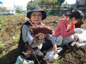 H271025サツマイモ掘り及び炊き出し訓練 (67)