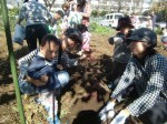 H271025サツマイモ掘り及び炊き出し訓練 (71)