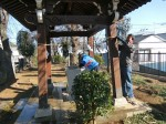 H271230門前氷川神社清掃作業 (8)
