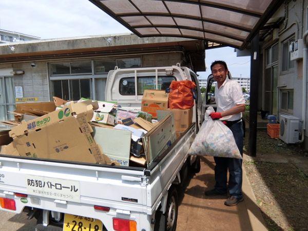 H280514資源ゴミ回収 (4)