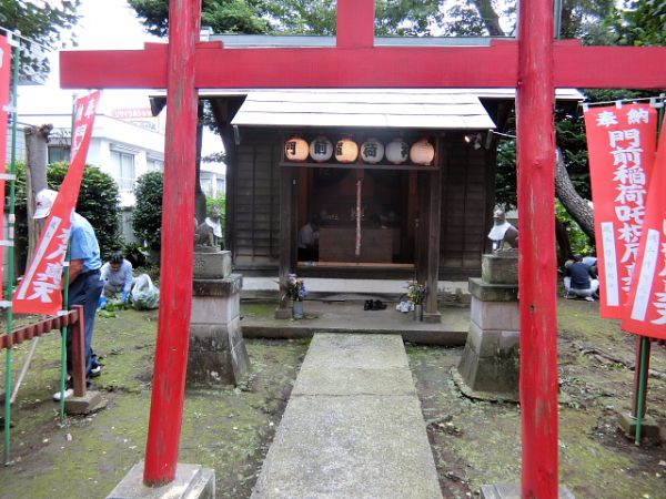 H280723稲荷神社・厳島神社清掃 (1)