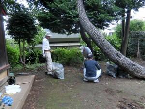 H280723稲荷神社・厳島神社清掃 (2)