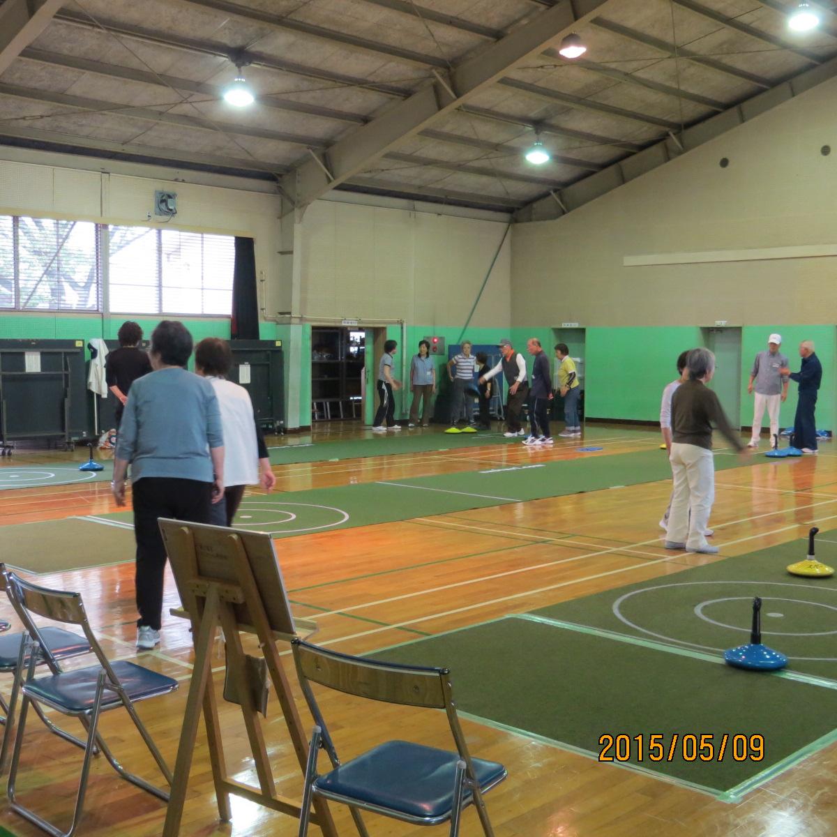 シニアスポーツ振興事業ユニカール教室