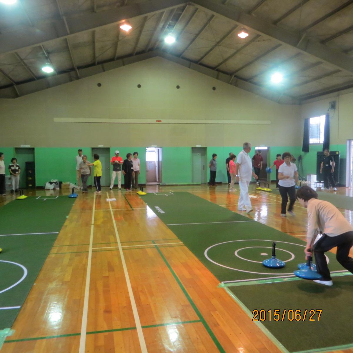 シニアスポーツ振興事業 ユニカール教室(前期)