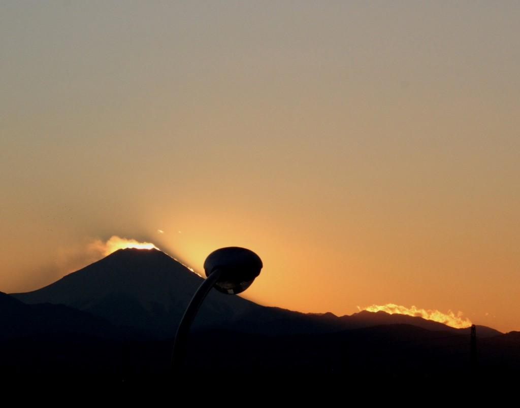 富士とタワ-