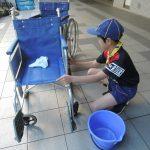 車椅子清掃