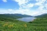 野反湖全景
