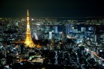 東京タワーとお台場