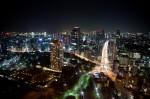 東京タワーからお台場方面